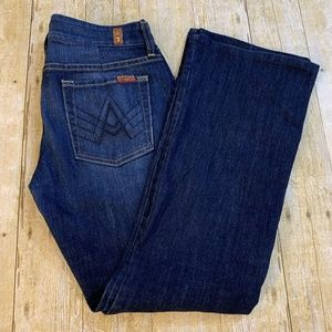 7 Seven For All Mankind  A Pocket Flare Jeans 29